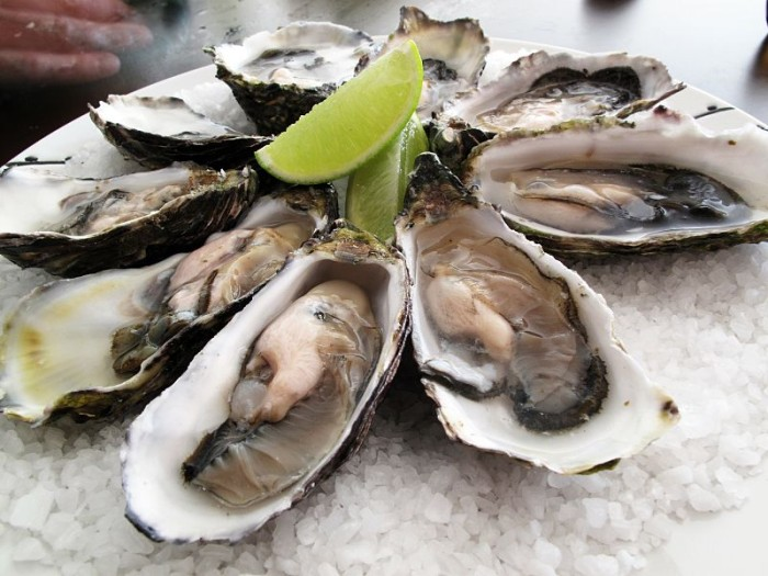 Fresh oysters I loved