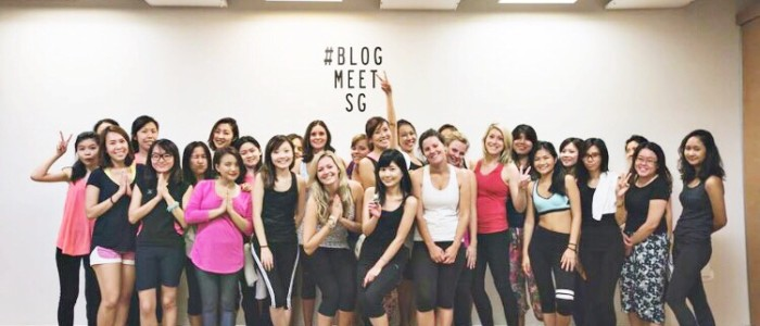BlogMeetSg x Pure Yoga