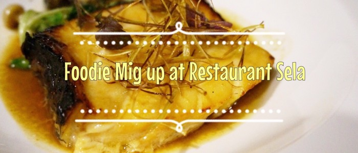 Food Mig Up at Restaurant Sela