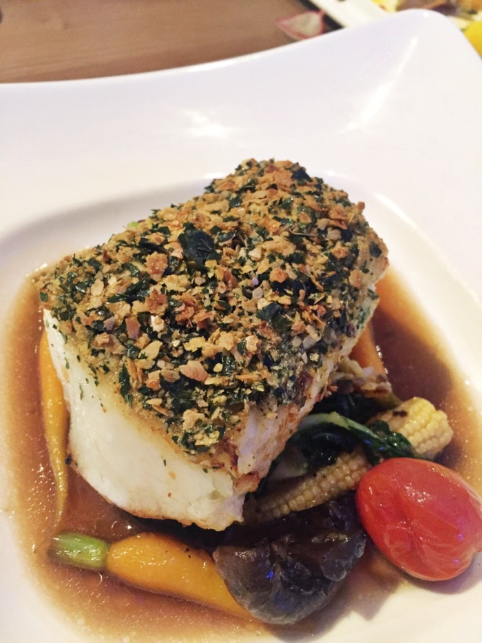 Cereal Crusted Cod Fish