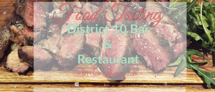 District 10 Bar & Restaurant