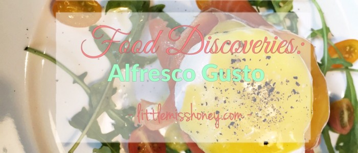 Food Discoveries: Alfresco Gusto Singapore