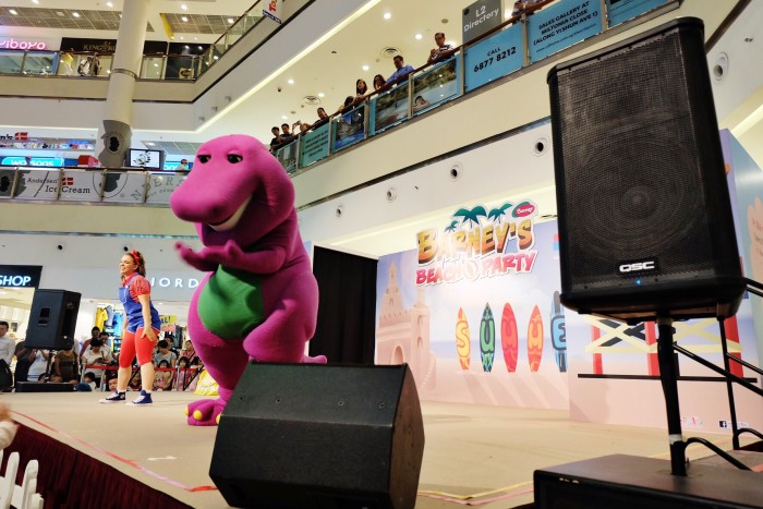 Barney at City Square Mall