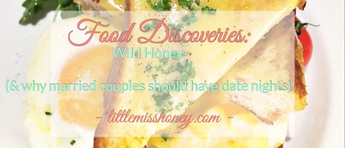 Wild Honey & marriage