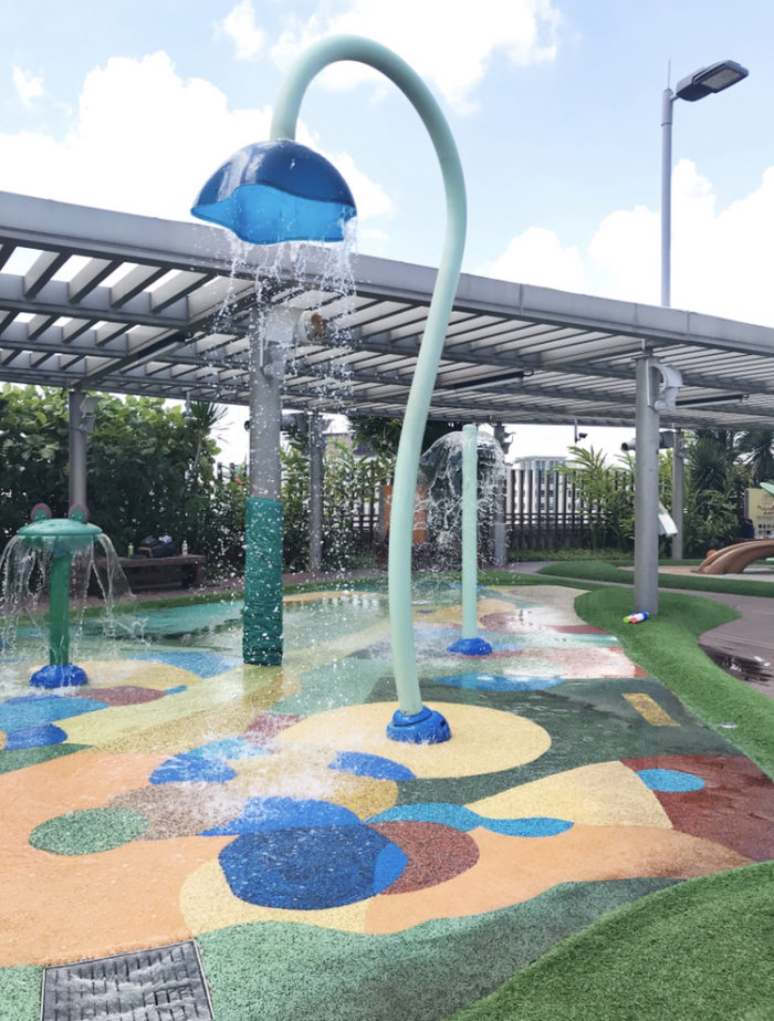 Tampines 1 Roof Deck Water Park