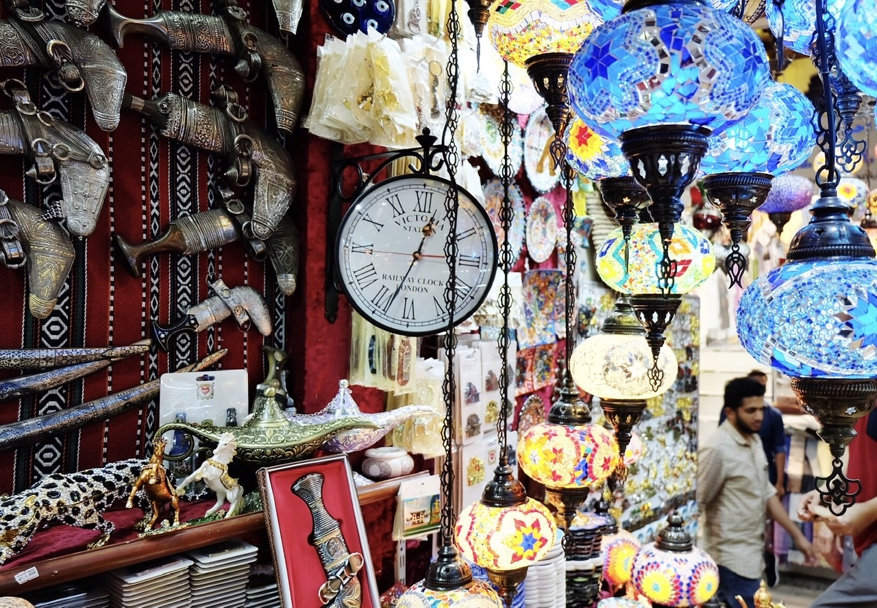 Shopping in Muttrah Souq