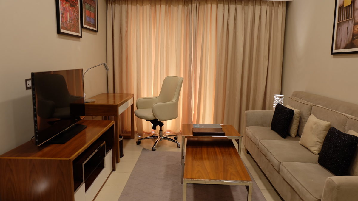 Somerset Panorama Muscat Living Room
